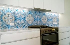 Glass splashback Melbourne