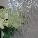 textured glass